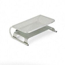 "Metal Desktop Printer/Monitor Stand, 18 1/2"" X 12"" X 5 3/4"""