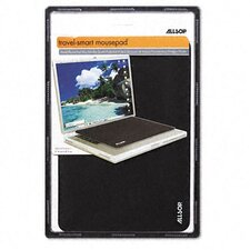 Travel Notebook Optical Mouse Pad, Nonskid Back, 13 X 9