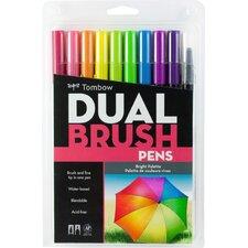 Dual Brush Pen 10/Pack