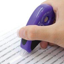 MONO Pink & Purple Grip Correction Tape Top Dispenser (2 Pack)