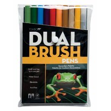 Dual Brush Secondary Pen (Set of 10)