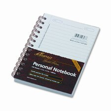 Gold Fibre Personal Notebook, College/Med Rule, 5 X 7, 100 Sheet