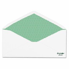 Envirotec 100% Recycled Security Envelope, #10, 20 lb., 500/Box