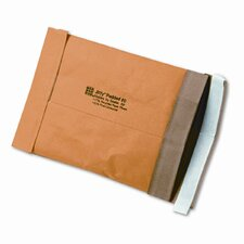 Jiffy Padded Self-Seal Mailer, Side Seam, #0, Golden Brown, 250/carton