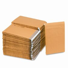 Jiffy Padded Self-Seal Mailer, Side Seam, #5,Golden Brown, 100/carton