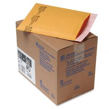 <strong>Sealed Air Corporation</strong> Jiffylite Self-Seal Mailer, Side Seam, #0, Golden Brown, 25/carton