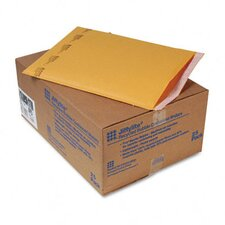 Jiffylite Self-Seal Mailer, Side Seam, #6, Golden Brown, 25/carton