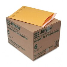 Jiffylite Self-Seal Mailer, Side Seam, #6, 12 1/2 X 19, 50/Carton