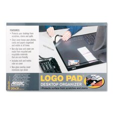 "<strong>Artistic Products LLC</strong> Desk Pad w/Cover Sheet, 20""x31"", Black"