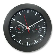 "Humidity Gauge 12"" Wall clock"