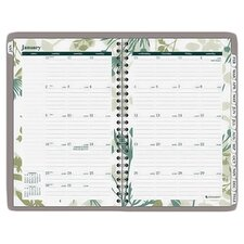 Botanical Weekly/Monthly Academic Planner