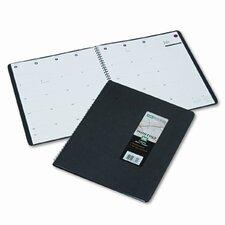 800 Range Monthly Planner, 9 x 11, Black, 2014