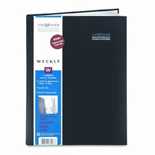 Premiére Professional Weekly Appointment Book, 8 x 11, Black