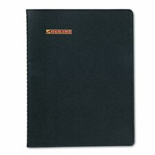 Monthly Pocket Planner, Unruled, 3-3/4 x 6, Black, 2013