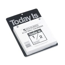 Today Is Daily Wall Calendar, 6-5/8 x 9-1/8, 2013