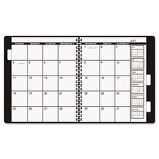 Monthly Planner Refill, 9 x 11