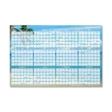Tropical Erasable Wall Planner