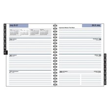 Day Minder Recycled Weekly/Monthly 2014 Refill for G545