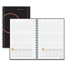 <strong>At-A-Glance</strong> Planning Notebook with Reference Calendar