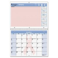 QuickNotes Breast Cancer Awareness Desk/Wall Monthly Calendar, 11 x 16 Overall, 2013
