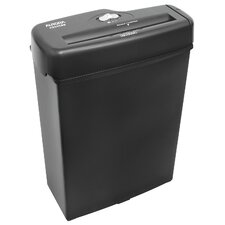 6 Sheet Light Duty Strip Cut Shredder in Black