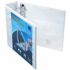 "Extra-Wide Ezd Reference View Binder, 3"" Capacity"