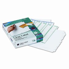 Index Maker Clear Label Dividers (8 Tabs, 25 Sets/Pack)