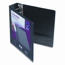 "Durable Vinyl Slant D Ring View Binder, 11 X 8-1/2, 2"" Capacity"