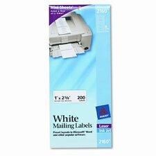 Laser/Inkjet Mailing Labels on Mini-Sheet (200/Pack)