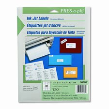 Pres-A-Ply Inkjet Address Labels, 750/Pack (Set of 2)