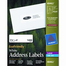 Ecofriendly Labels, 1400/Box