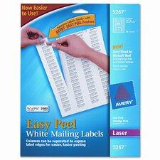 5267 Easy Peel Laser Address Labels, 2000/Pack