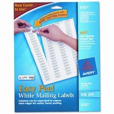 8167 Easy Peel Inkjet Return Address Labels, 2000/Pack