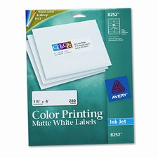 Inkjet Labels for Color Printing (280/Pack)