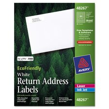 Ecofriendly Labels, 2000/Pack