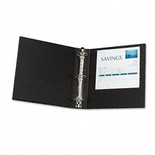 "Economy Round Ring Reference Binder, 2"" Capacity"