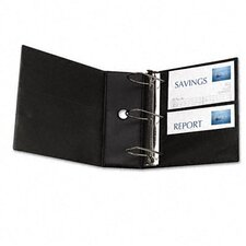 Durable Slant Ring Locking Reference Binder, 5in Capacity