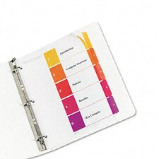 <strong>Avery Consumer Products</strong> Ready Index Contemporary Table of Contents Divider (5 Tabs)