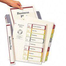 Ready Index Contents Dividers