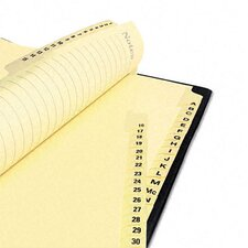 Gold Reinforced Laminated Tab Dividers with A-Z Tabs (25 Tabs, 25 Sets/ Box)