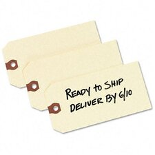 Paper Shipping Tags, 5 1/4 X 2 5/8 (1,000/Box)