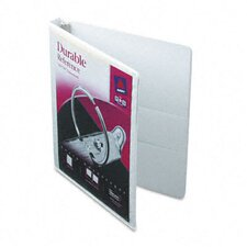 "Durable Vinyl View Binder, 11 x 8-1/2, 1/2"" Capacity"