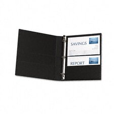 Durable Ez-Turn Ring Binder with Label Holder