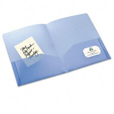Polypropylene Pocket Portfolio