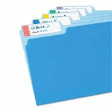 Extra-Large 1/3-Cut Filing Labels, 15/16 X 3-7/16, 450/Pack