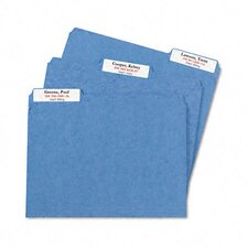 <strong>Avery Consumer Products</strong> Extra-Large 1/3-Cut Filing Labels, 15/16 X 3-7/16, 450/Pack