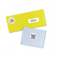 High-Visibility Round Laser Labels, 600/Pack