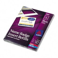 Additional White Laser/Inkjet Inserts, 300/Box