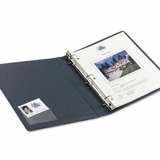 Self-Adhesive Business Card Holders, Top Load, 10/Pack