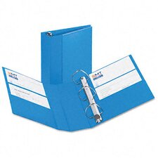 "Heavy-Duty Vinyl Ezd Ring Reference Binder, 4"" Capacity"